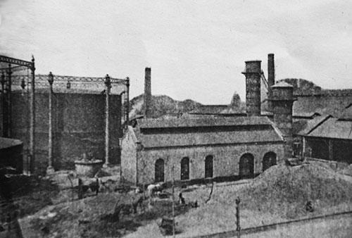 L'usine à gaz de Wazemmes, à la fin du XIXe siècle