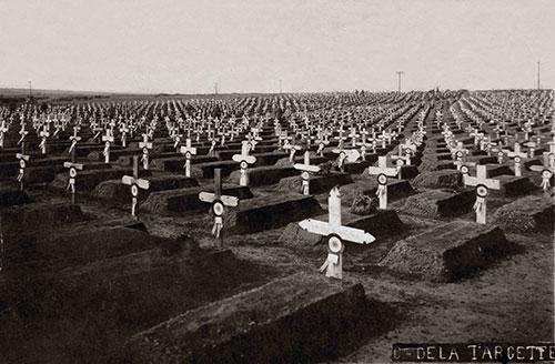 Le cimetière de la Targette