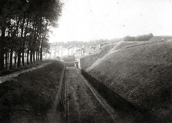 Le Fort de Mons en 1914