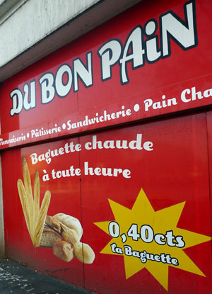 """Boulangerie """"Du Bon Pain"""""""