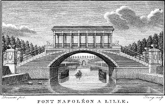 Pont Napoléon à l'origine