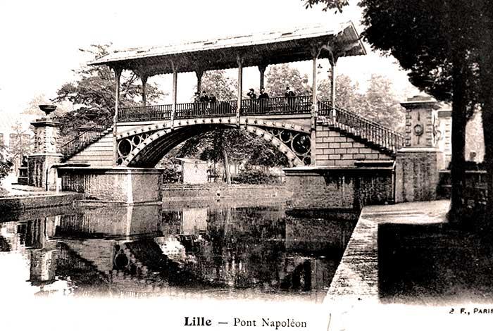 Dernières retouches pour le pont Napoléon et fin définitive des travaux