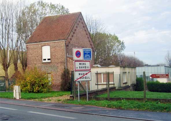 Maison du gardien de Goosens dans les années 1990