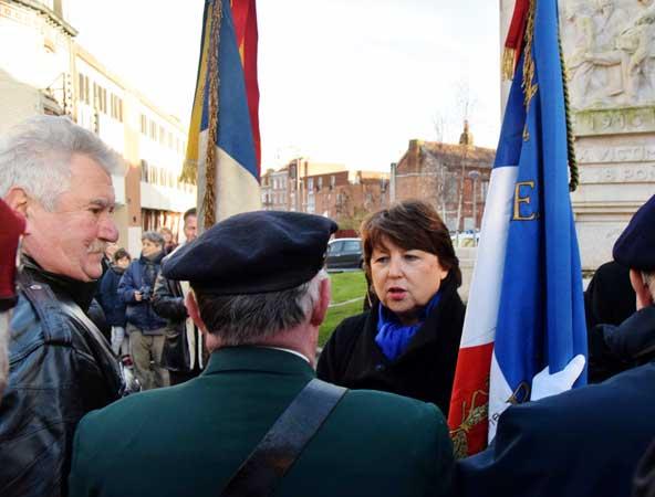 Une Cérémonie présidée par Madame Martine Aubry maire de Lille
