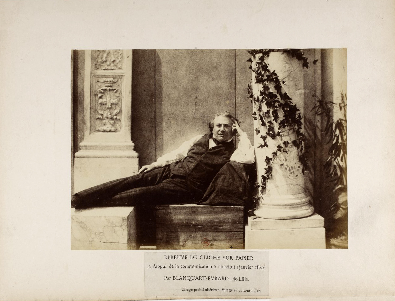 Louis Désiré Blanquart-Evrard - La photographie